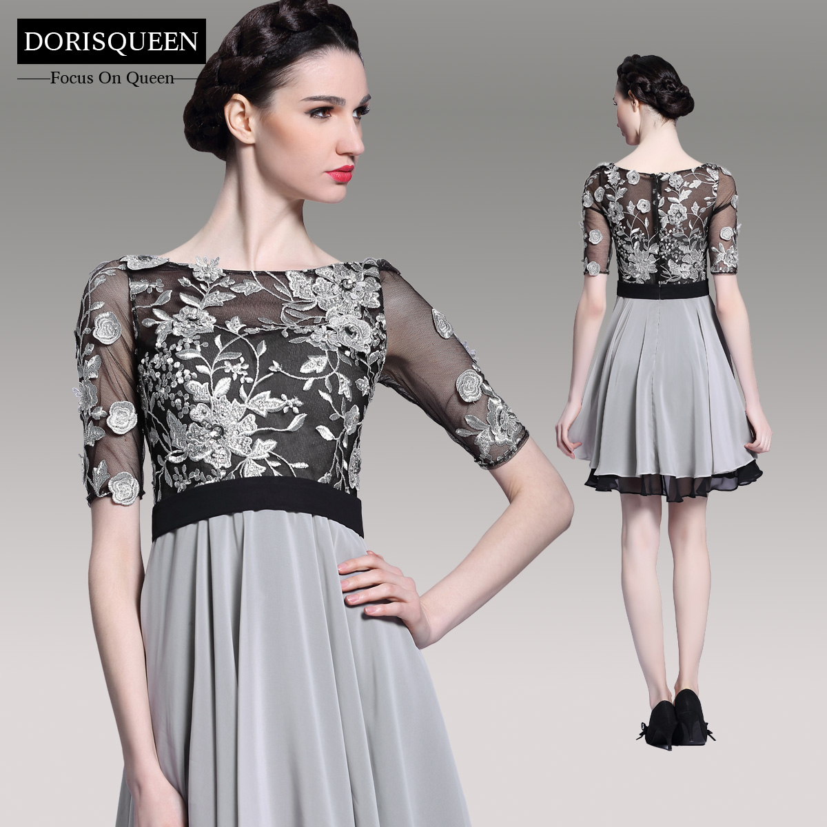 dorisqueen.com ready to wear manufacturer selling affordable 2014 short dresses 6076(1)